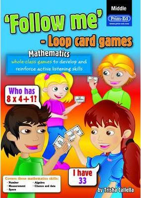 Follow Me Loop Card Games - Maths (Middle)