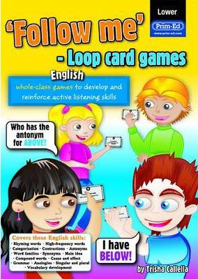 Follow Me Loop Card Games - English (lower)