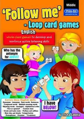 Follow Me Loop Card Games - English (middle)