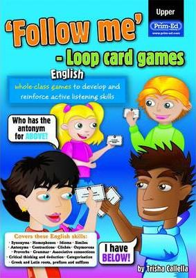 Follow Me Loop Card Games - English (upper)