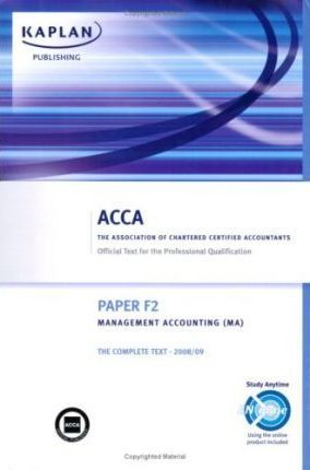 F2 Management Accounting MA Complete Text