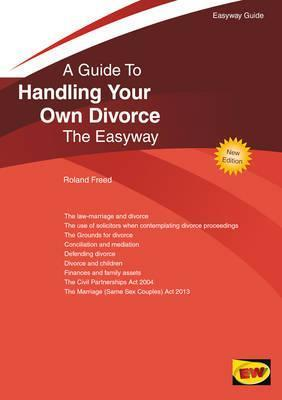 Handling Your Own Divorce: The Easyway
