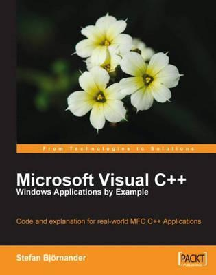 Read Microsoft Visual C++ Windows Applications by Example PDF online