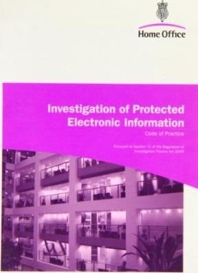 Investigation of Protected Electronic Information