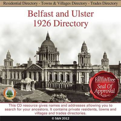 Ireland, Belfast and Ulster 1926 Directory