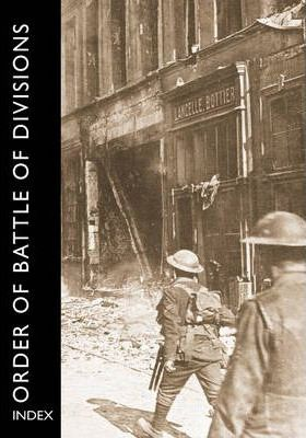 Order of Battle of Divisions, Index Cover Image
