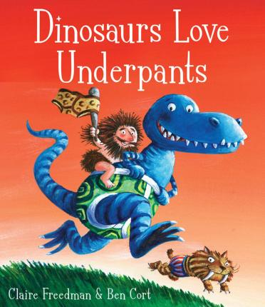 Dinosaurs Love Underpants Cover Image