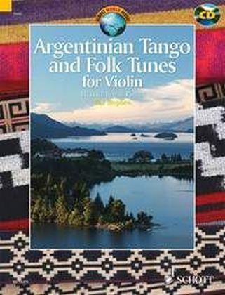 Argentinian Tango and Folk Tunes for Violin Cover Image