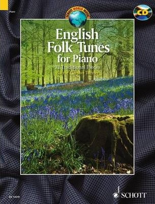 English Folk Tunes for Piano : 32 Traditional Pieces