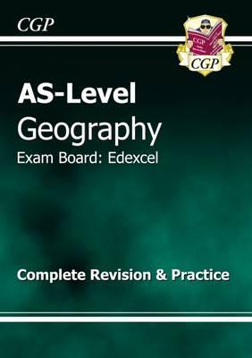 AS Level Geography Edexcel Complete Revision & Practice Cover Image