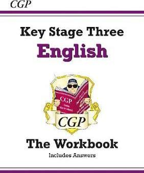 KS3 English Workbook (with Answers) Cover Image