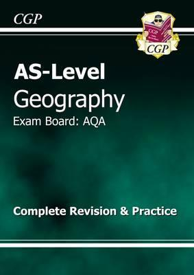 AS Level Geography AQA Complete Revision & Practice Cover Image