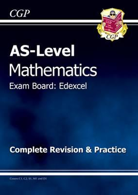 AS-Level Maths Edexcel Complete Revision & Practice Cover Image
