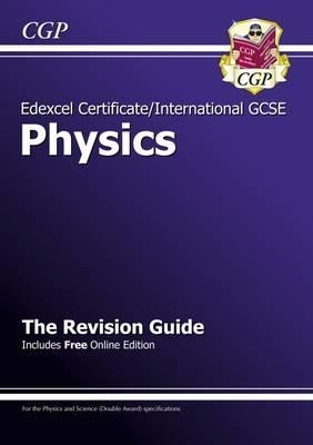 Edexcel International GCSE Physics Revision Guide with Online Edition (A*-G Course) Cover Image