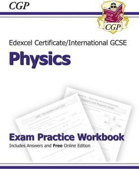 Edexcel International GCSE Physics Exam Practice Workbook with Answers (A*-G Course) Cover Image