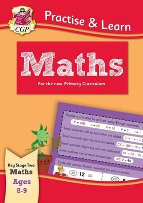 New Practise & Learn: Maths for Ages 8-9 Cover Image