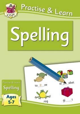 New Practise & Learn: Spelling for Ages 5-7 Cover Image