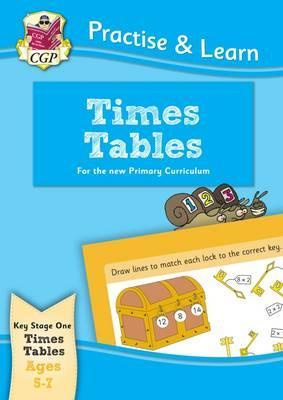 New Practise & Learn: Times Tables for Ages 5-7 Cover Image