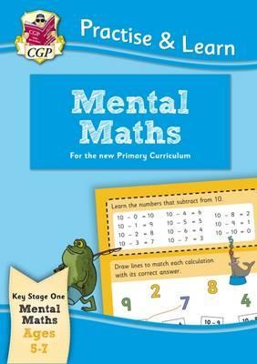 New Practise & Learn: Mental Maths for Ages 5-7 Cover Image