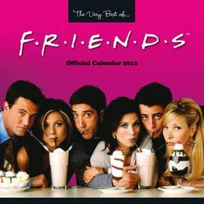 The Official Friends TV 2011 Square Calendar