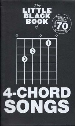 The Little Black Songbook : 4-Chord Songs
