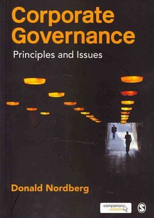 Corporate Governance: Principles and Issues