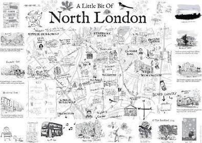 A London Country Diary Poster Map