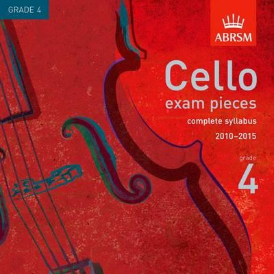 Cello Exam Pieces from 2010 Gr 4