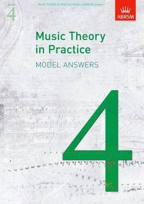 Music Theory in Practice Model Answers, Grade 4 Cover Image