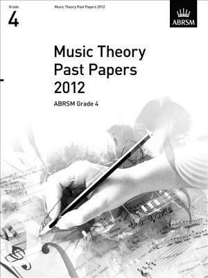 Music Theory Past Papers 2012, ABRSM Grade 4 2012
