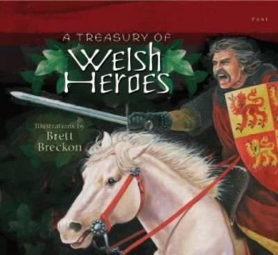 Treasury of Welsh Heroes, A Cover Image