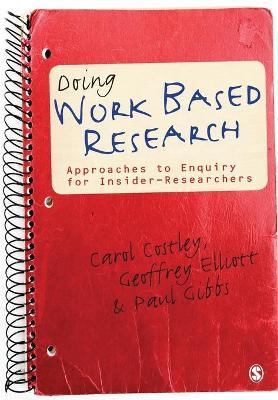 Doing Work Based Research Cover Image