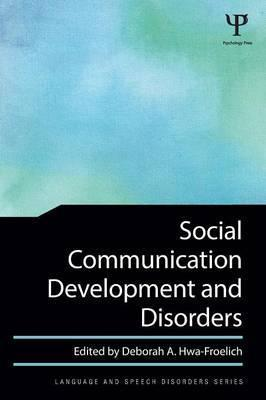 Social Communication Development and Disorders Cover Image
