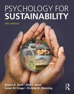 Psychology for Sustainability : 4th Edition