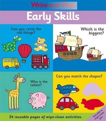 Write and Wipe: Early Skills
