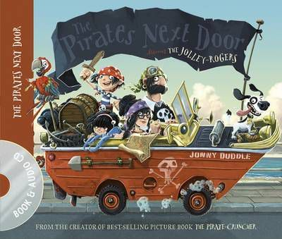 The Pirates Next Door Book & CD Cover Image