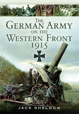 German Army on the Western Front 1915 Cover Image