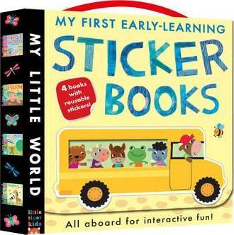 My First Early-learning Sticker Books