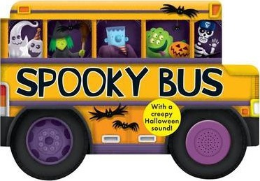 Spooky Bus  Shaped Board Books
