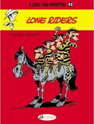 Lucky Luke Vol.42 Lone Riders Cover Image