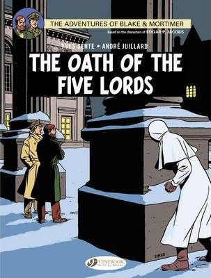 Blake & Mortimer 18 - The Oath of the Five Lords Cover Image