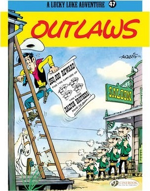 Lucky Luke 47 - Outlaws Cover Image
