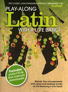 Play-Along Latin With A Live Band] - Clarinet