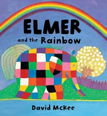 Elmer and the Rainbow Board Book