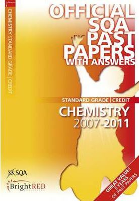 Chemistry Credit SQA Past Papers 2011