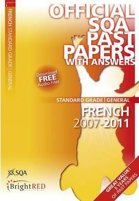 French General SQA Past Papers 2011