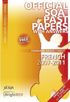 French Credit SQA Past Papers 2011