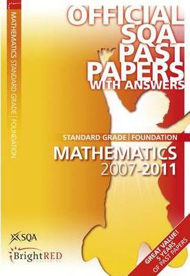 Maths Foundation SQA Past Papers 2011