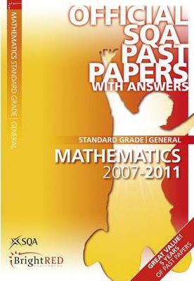 Maths General SQA Past Papers 2011