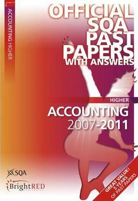 Accounting Higher SQA Past Papers 2011